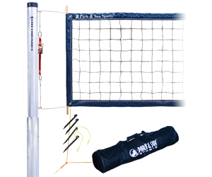 Tournament 4000 Telescopic Volleyball Net System