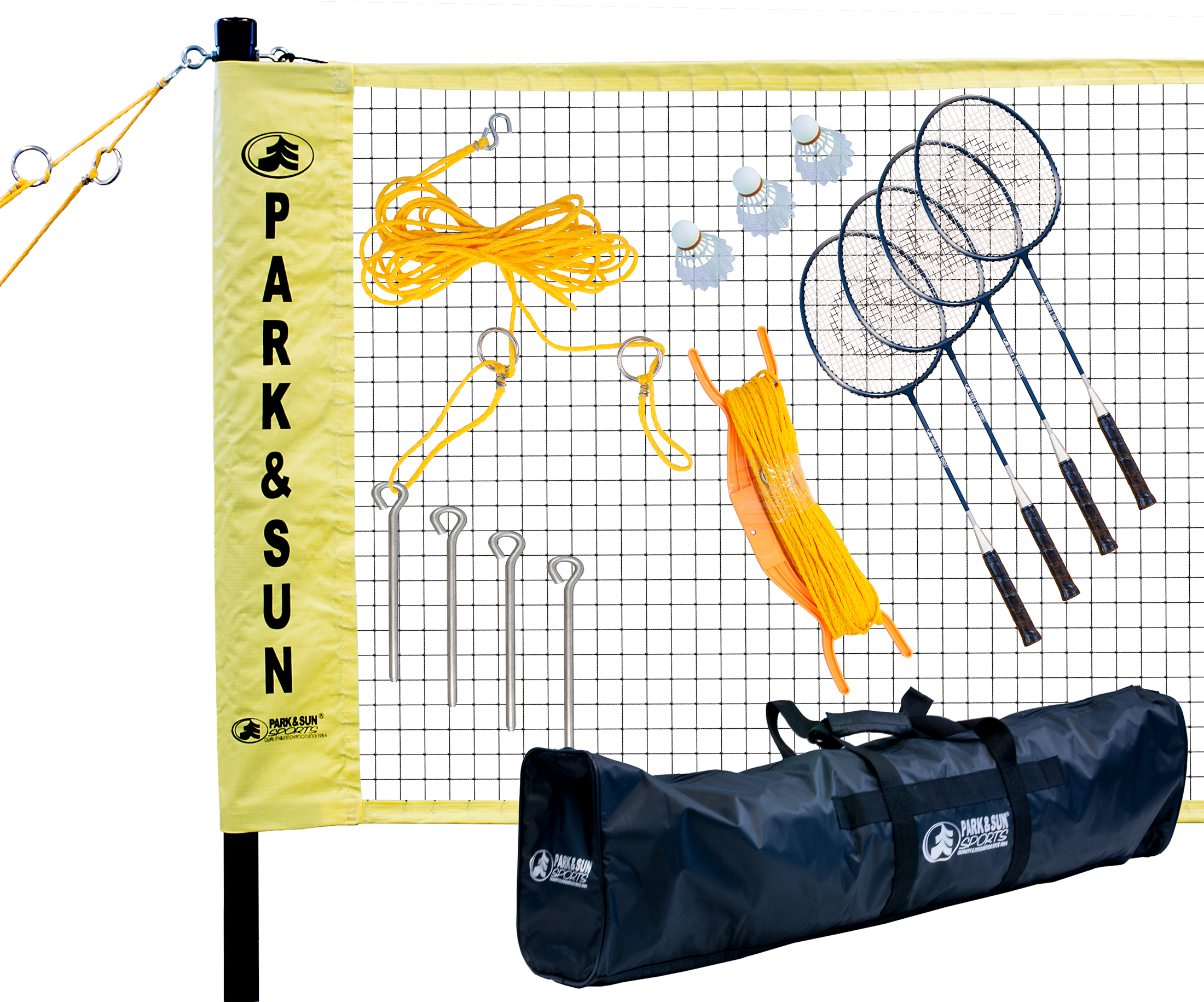 Quality Badminton Pro Pro Level Badminton Set With