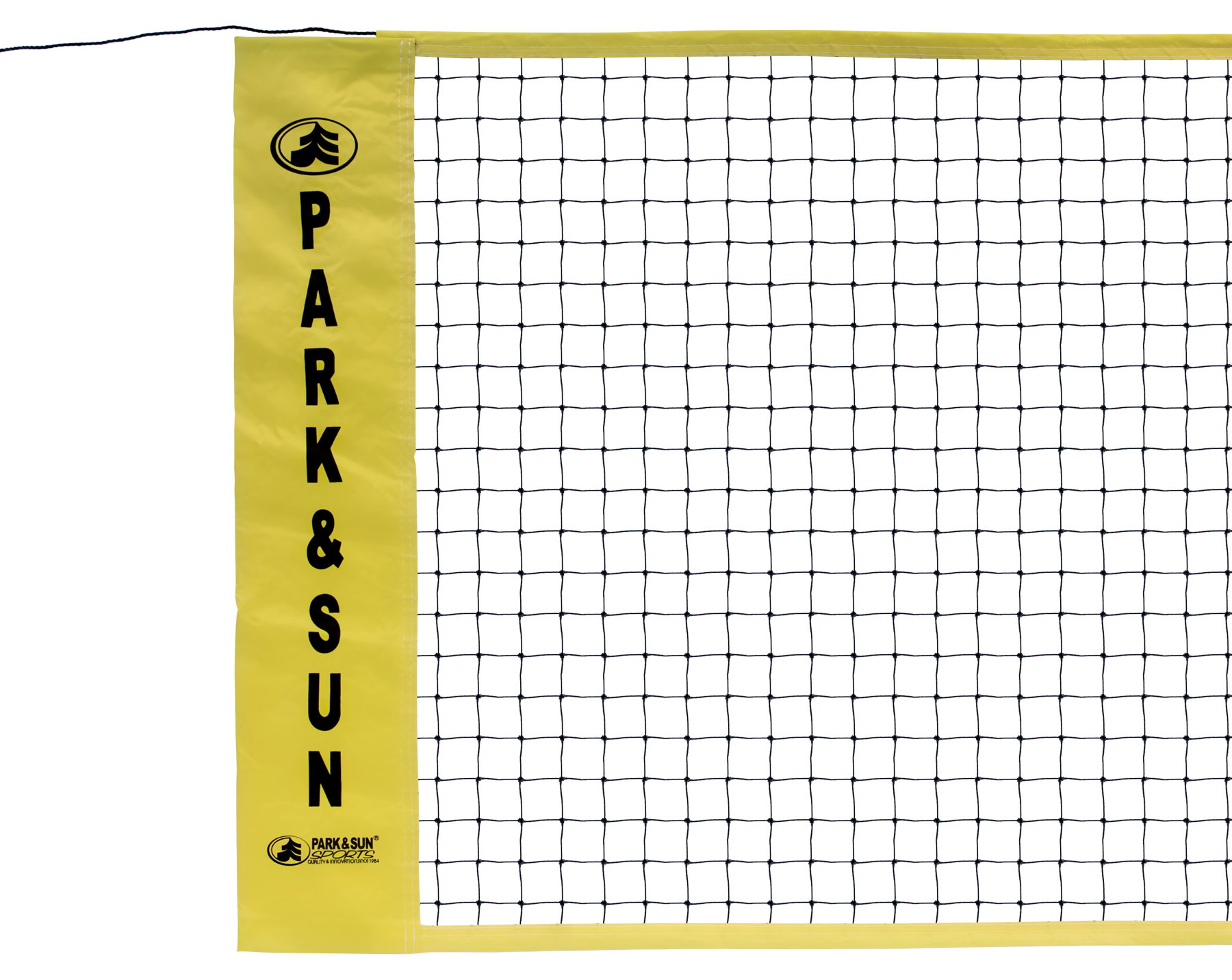 Quality Regulation Size Yellow Badminton Net 30 Inches X 21 Feet Park And Sun Sports