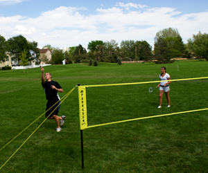 Park and Sun Sports Badminton Pro System action