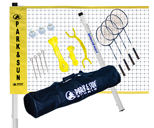 Park and Sun Sports Badminton Rec Net System