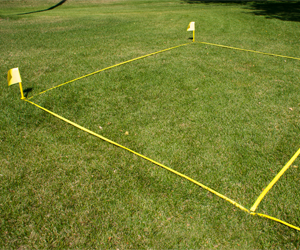Park and Sun Sports - Bocce Webbing Boundary Court