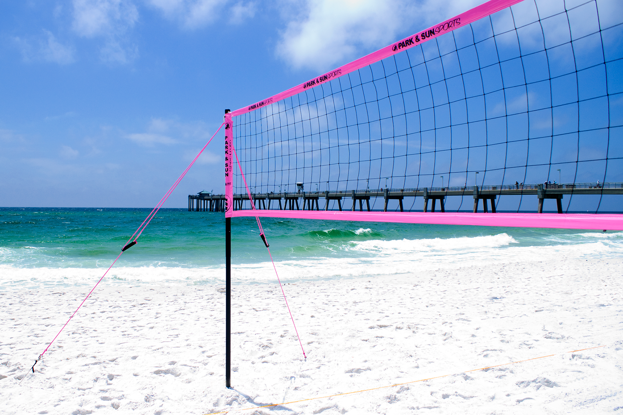 Park And Sports Erfly Sand Adapter Kit Volleyball Net Set Up