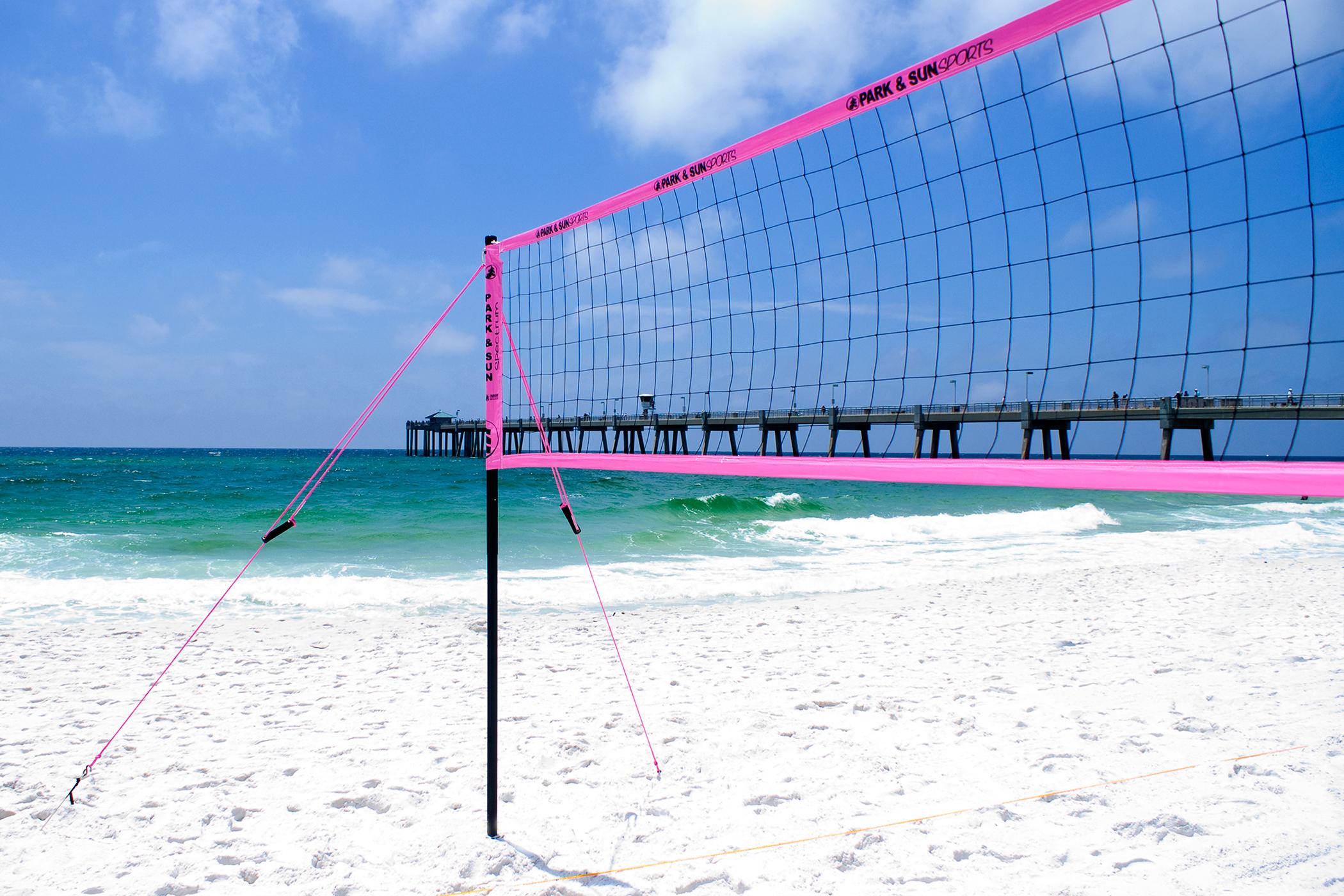 Sdk Volleyball Beach Court Sand Disc Beach Kit For