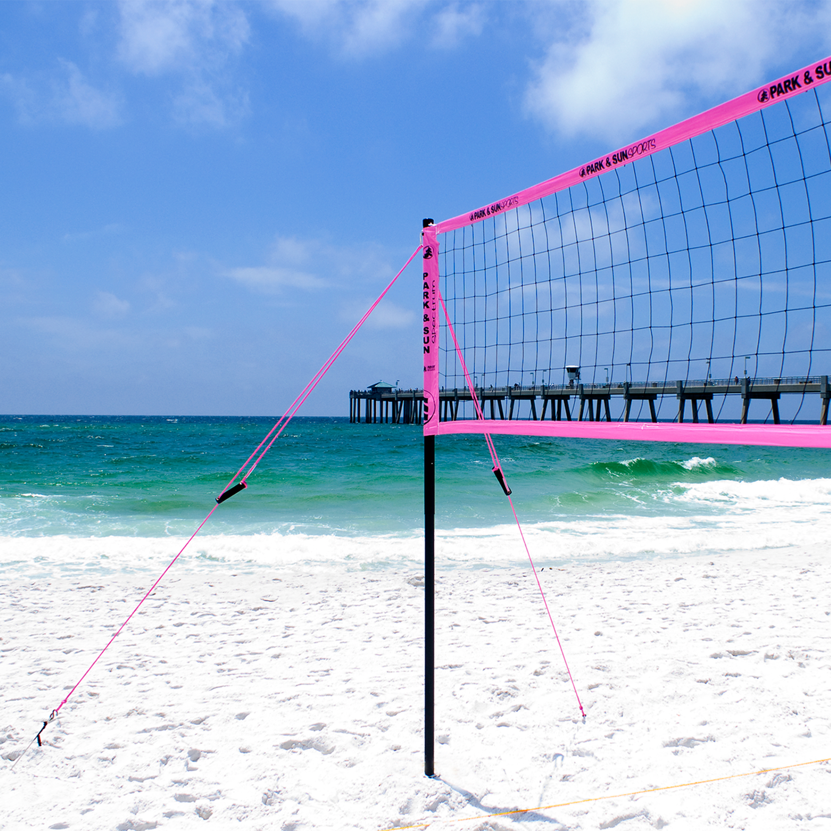 Sdk Volleyball Beach Court Sand Disc Beach Kit For