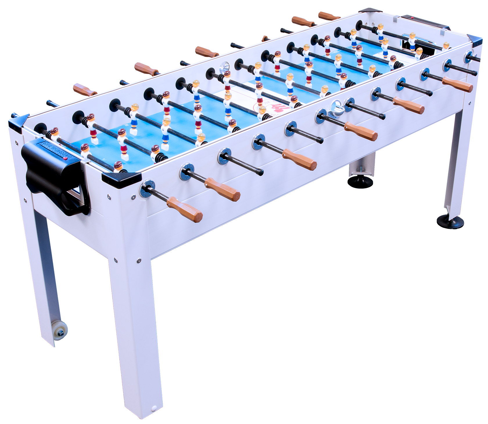 6 Player Blue Sky Indoor Outdoor Game Room Soccer Table | Foosball | Park  And Sun Sports