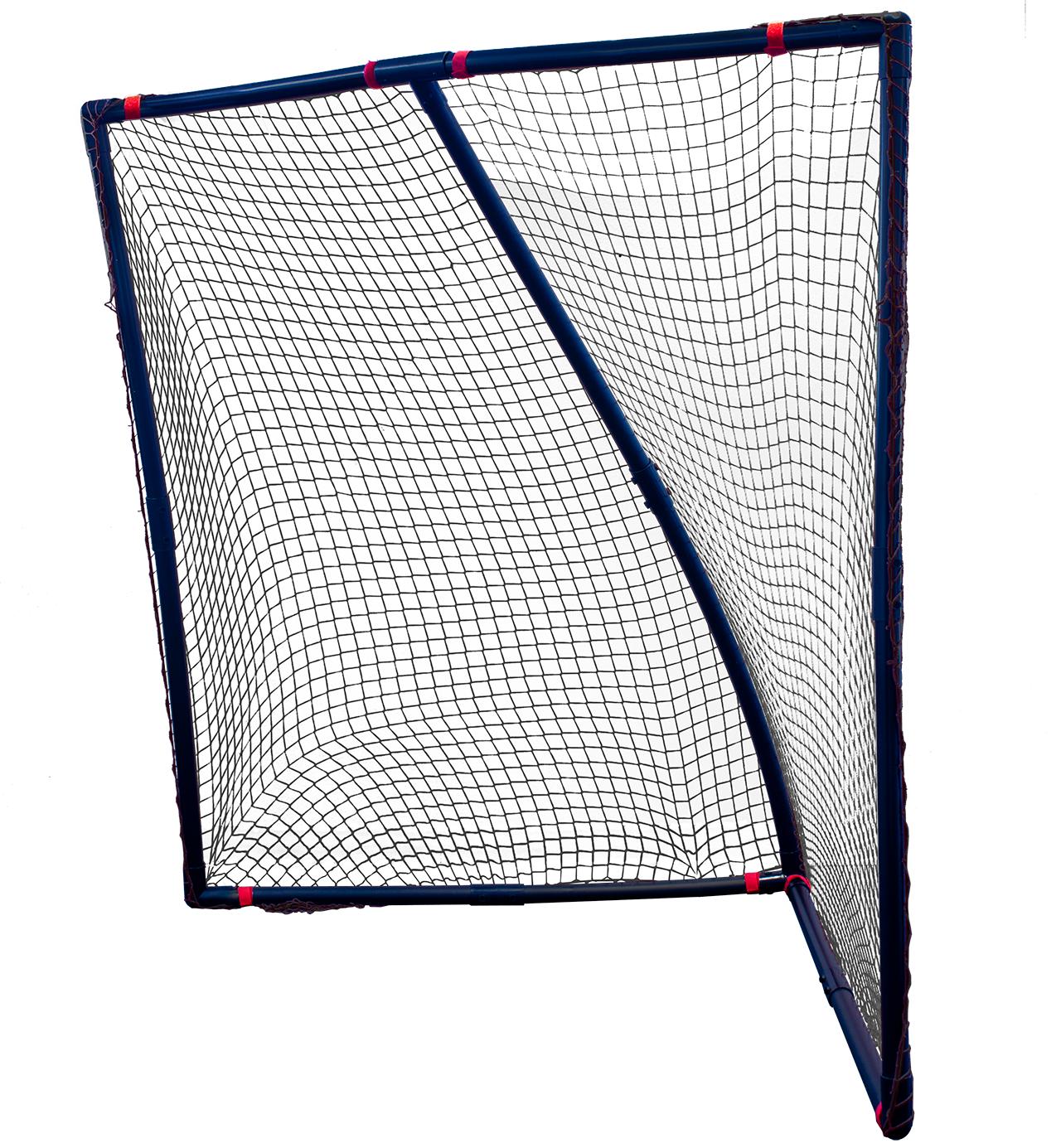 Polyflex 6 Ft Practice Lacrosse Goal High Impact Black