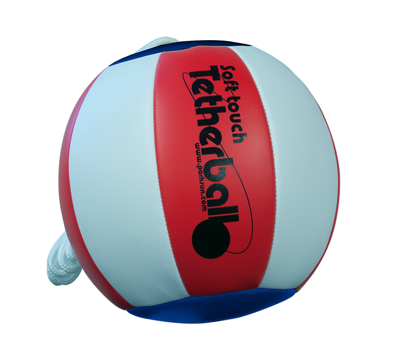 Park and Sports Red white and blue tetherball