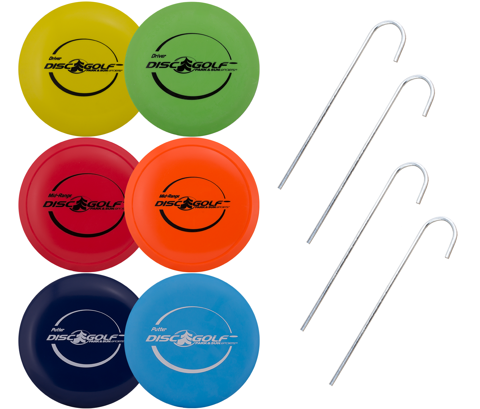 Park and Sports Disc Golf Product Layout