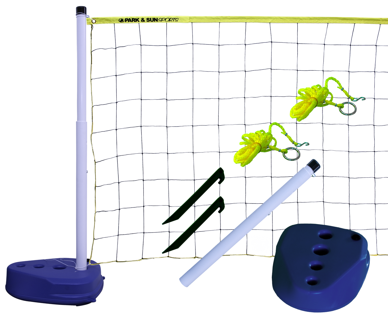 Park and Sports Pool Volleyball Product Layout