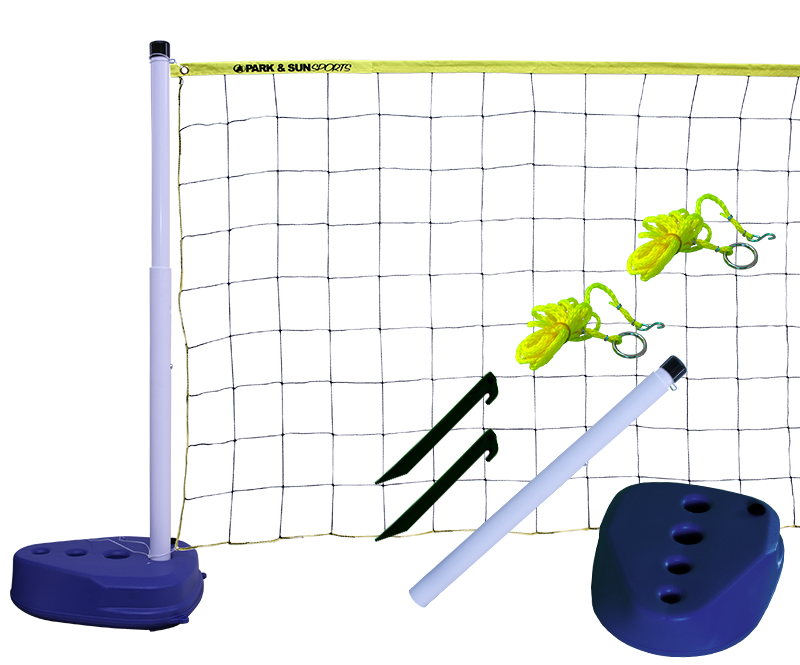 Park and Sports Yellow Pool Volleyball Set layout