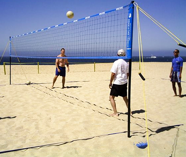 Park and Sports sand adapter kits for beach volleyball