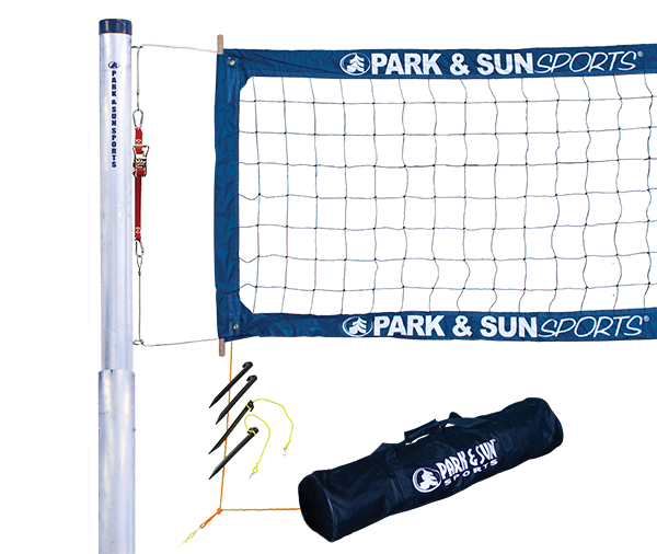 Park and Sports Tournament 4000 Professional Telescopic Complete Outdoor Volleyball Net System