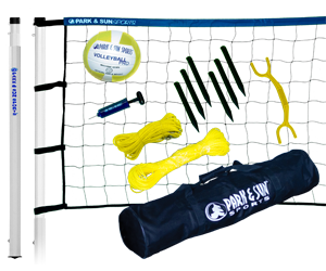 Park and Sun Sports Blue Player III Volleyball System