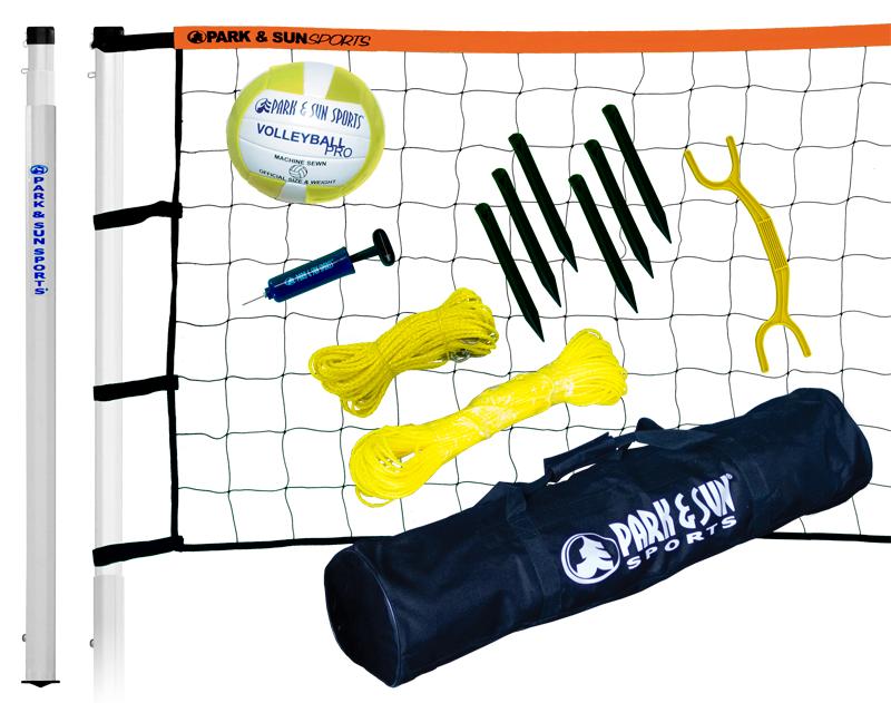 Outdoor Volleyball Net System Player Iii Park Amp Sun
