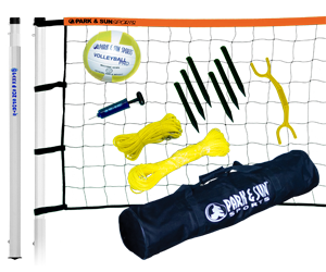 Park and Sun Sports Orange Player III Volleyball System