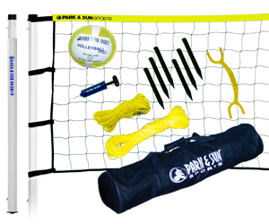 Park and Sun Sports Yellow Player III Volleyball System