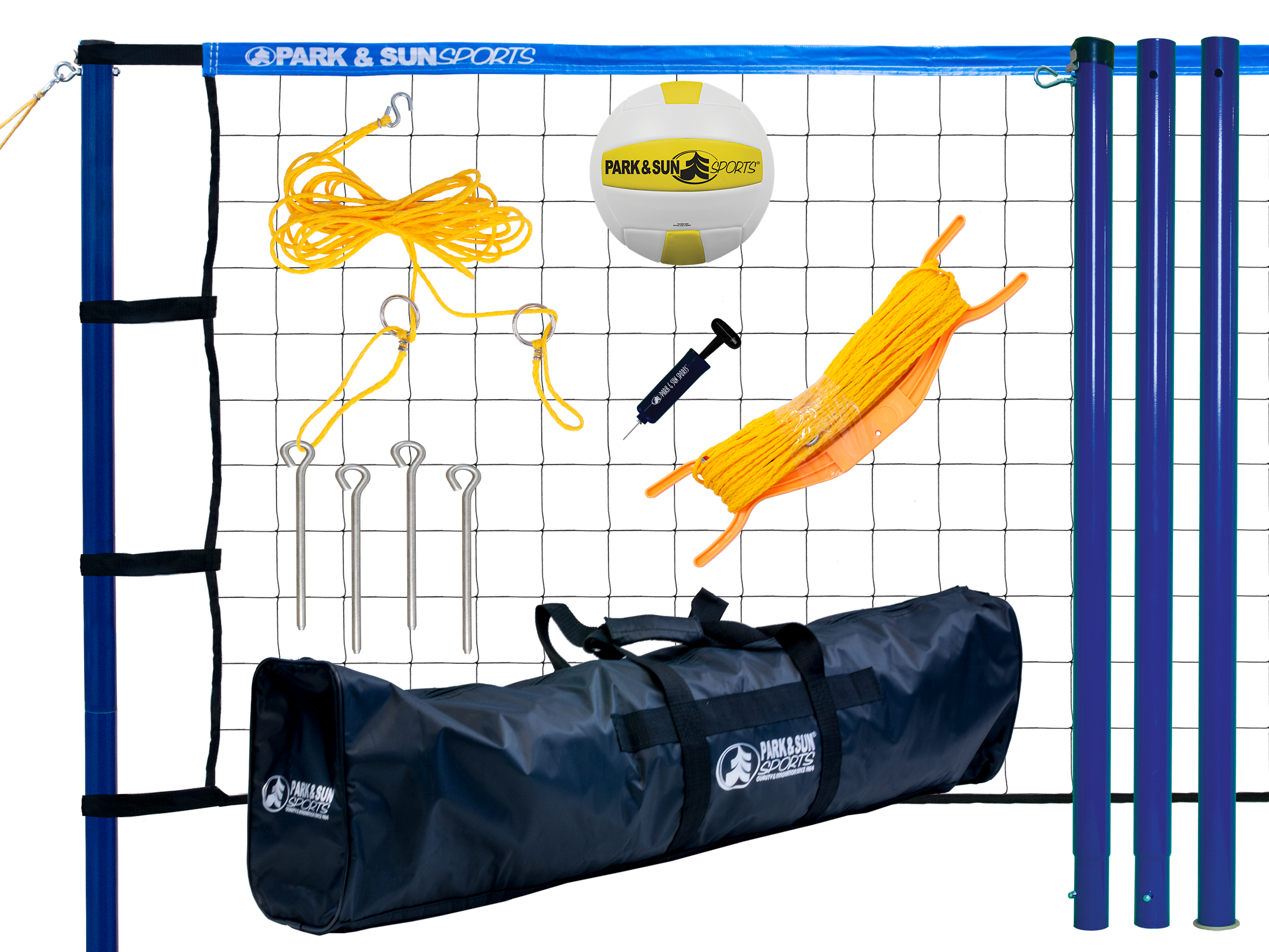 Best Family Portable Outdoor Volleyball Net System