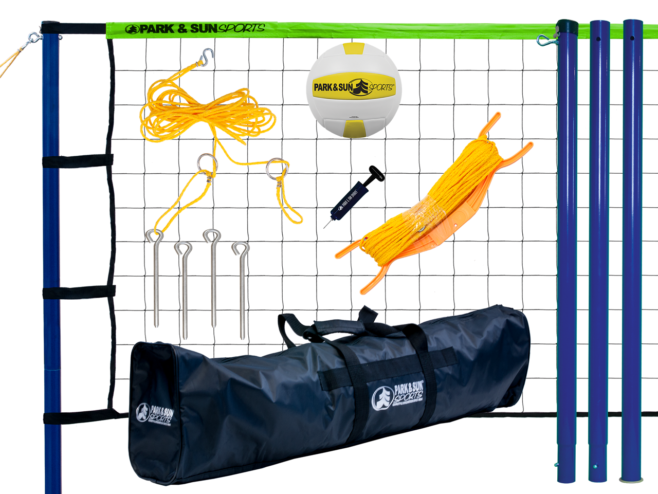 Park and Sports Blue Spiker Sport Product Layout