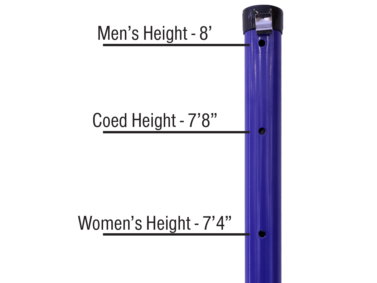 Park and Sports Spiker Sport Height Adjustment