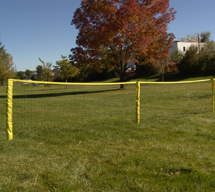 Park and Sports Sport Fence Ball Stop grass set-up