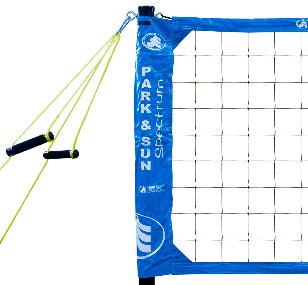 Spectrum PRO features the Original Sleeve Slip-on Volleyball Net