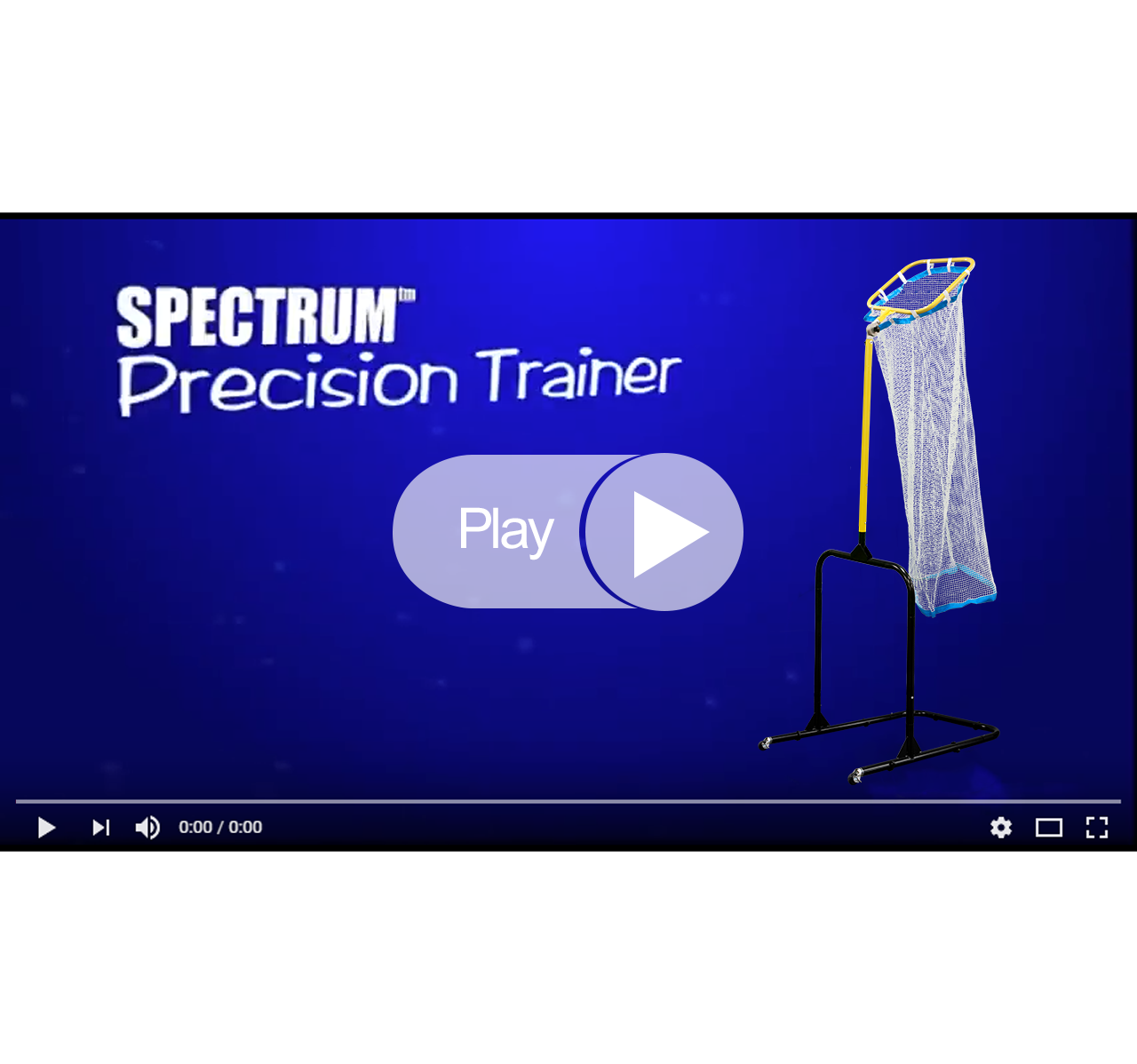Park and Sports Spectrum Precision Trainer YouTube Video