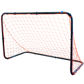 Park and Sports Black Steel Soccer Goal
