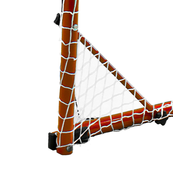 Park and Sports Steel Street Hockey Goal 90 degree