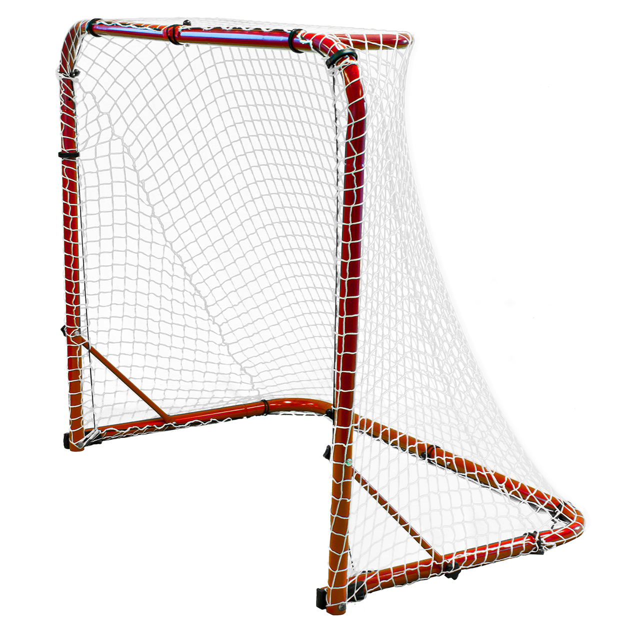 Durable 54 inch Folding 18 gauge Steel Street Hockey Goal
