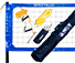Park and Sun Sports Blue Spectrum Classic Volleyball System thumbnail