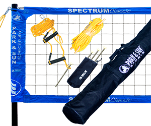 Park and Sun Sports Blue Spectrum Classic Volleyball System
