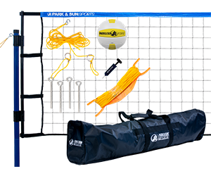 Park and Sun Sports Blue Spiker Flex Volleyball System