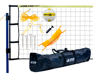 Park and Sun Sports Yellow Spiker Flex Volleyball System