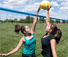 Park and Sun Sports Spiker Sport Steel Volleyball System Action thumbnail