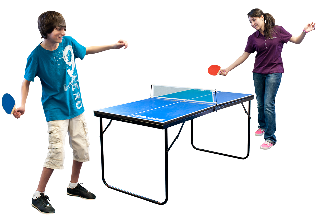 Game Room - Soccer and Tennis Game Tables - Basketball Arcad