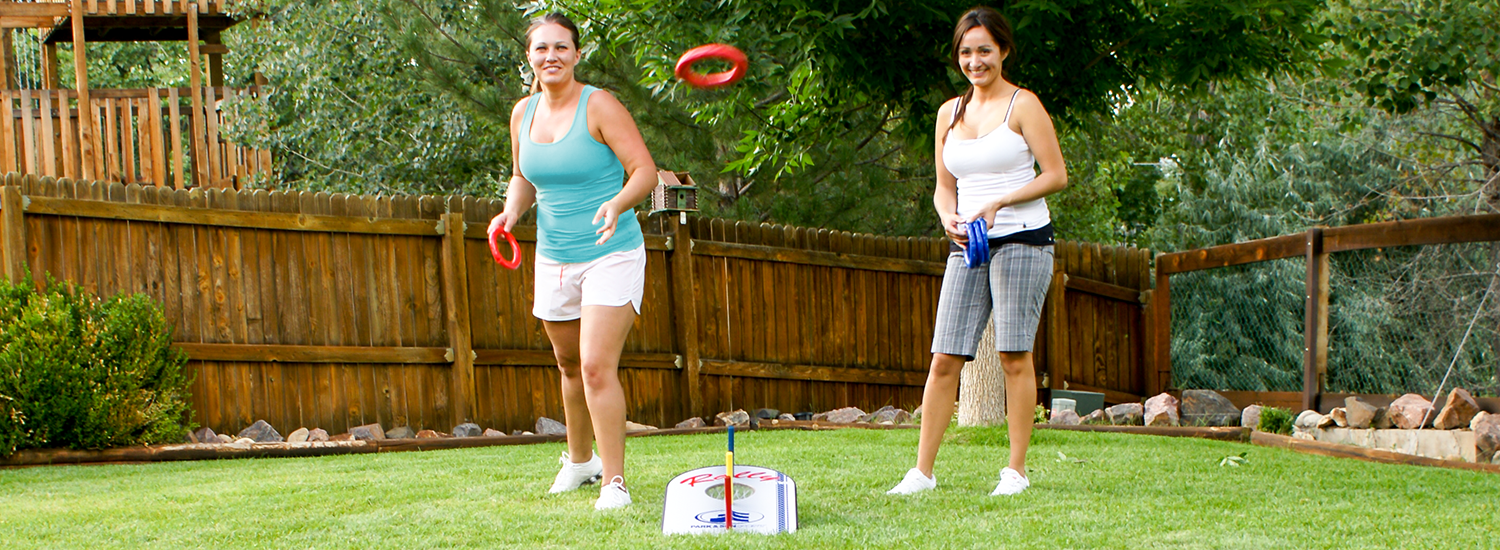 Great target games for family fun - Features Cornhole, Disc Golf ...