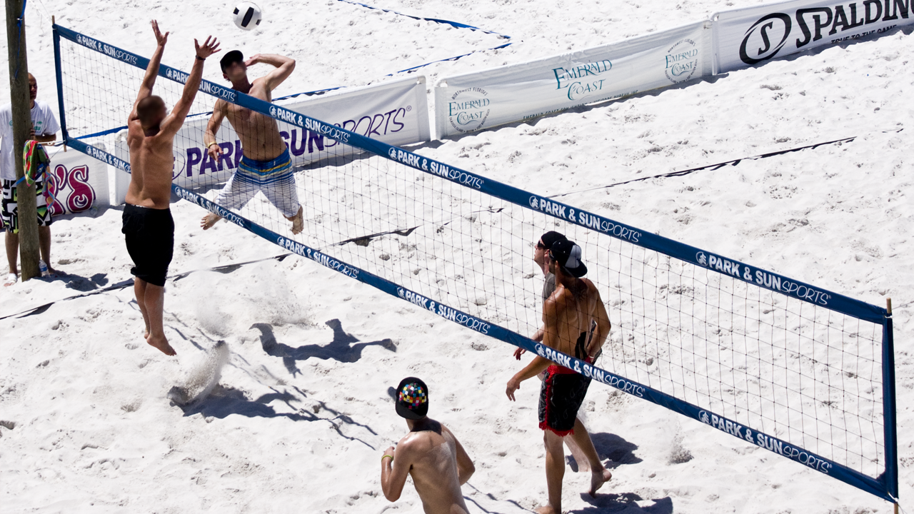 Emerald Coast Volleyball Week, mens' pro beach volleyball tournament