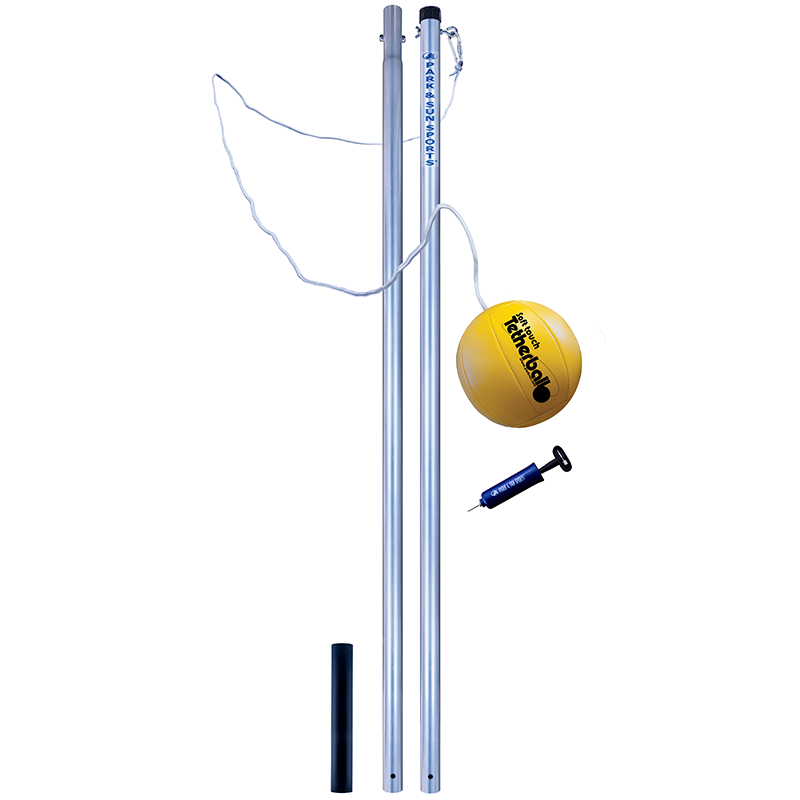 Park and Sports 2 piece tetherball pole Set