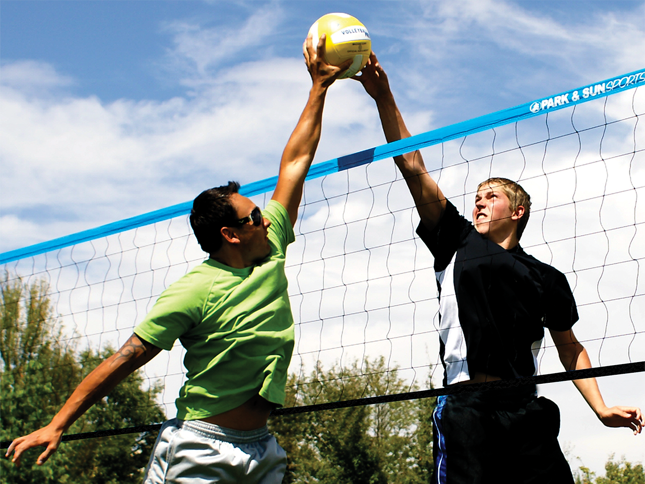 TP-179 - Tournament 179 Outdoor Volleyball Net System ...