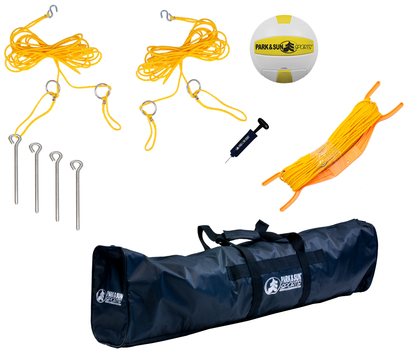 Park and Sports Tournament FLEX Volleyball Set Accessories