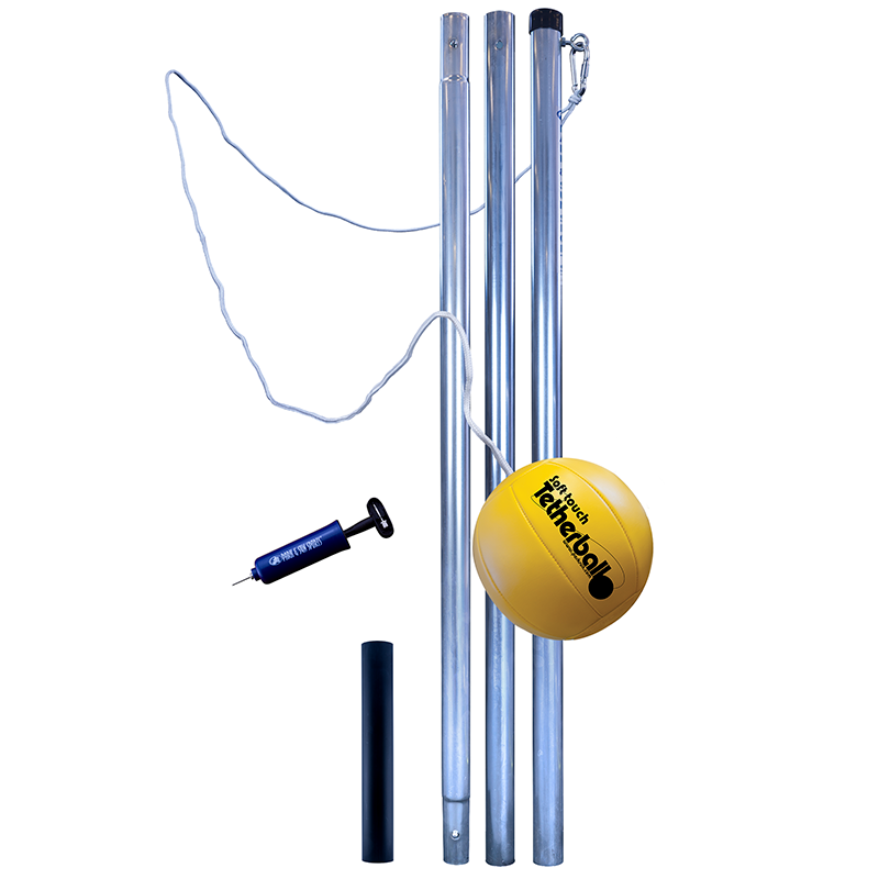 Park and Sports 3 piece tetherball pole Set