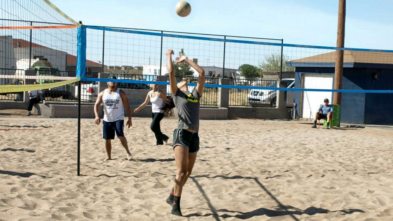 Sand Triball - 3D Volleyball