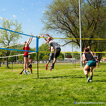 Park and Sports Spectrum Classic grass volleyball