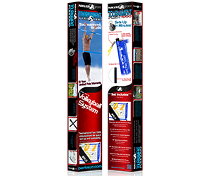 Park and Sun Sports TS-FLEX-1000 Volleyball Net System Retail Packaging