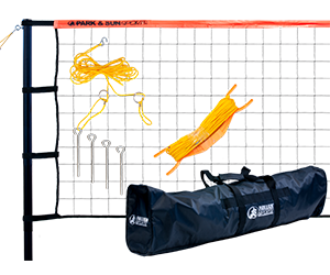 Park and Sun Sports Orange TP-179 Volleyball Net System