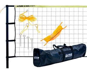 Park and Sun Sports Yellow TP-179 Volleyball Net System
