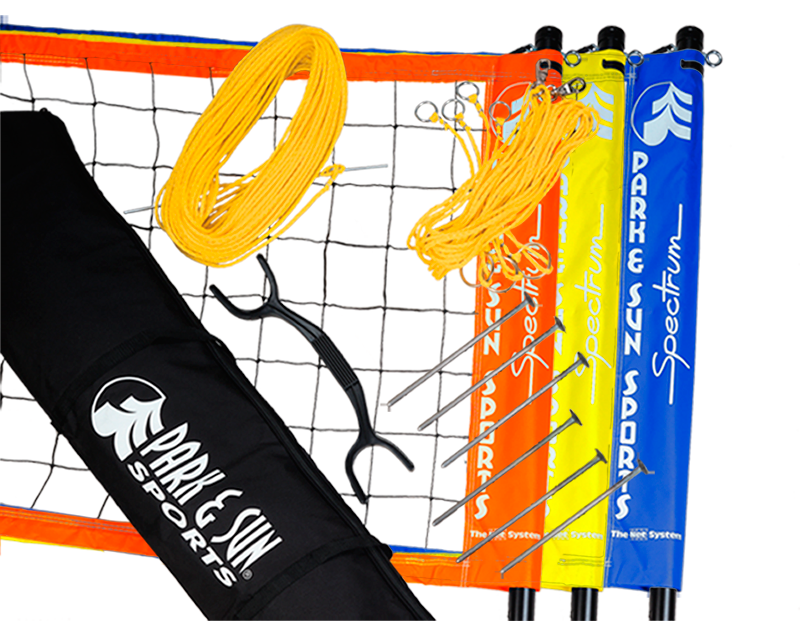 Park and Sports Spectrum Volleyball Triball Pro Product Layout