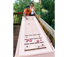 Park and Sun Sports - Outdoor Game Table Series - Blue Sky Shuffleboard Table Action Thumbnail