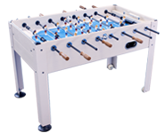 Park and Sun Sports - Outdoor Game Table Series - Blue Sky Soccer Table LT